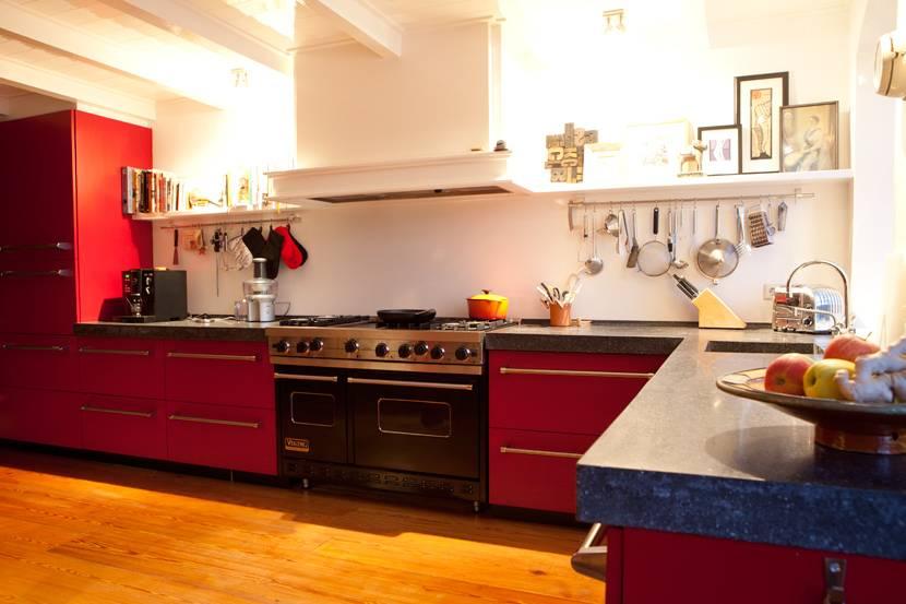 Keuken Grote Open : Verbouwing amsterdam zuid keuken kookeiland vloer open haard