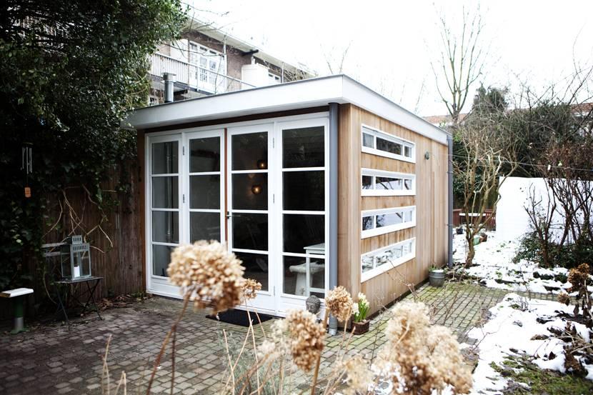 Tuinhuis of schuur in watergraafsmeer - Ontwerp tuinhuis ...